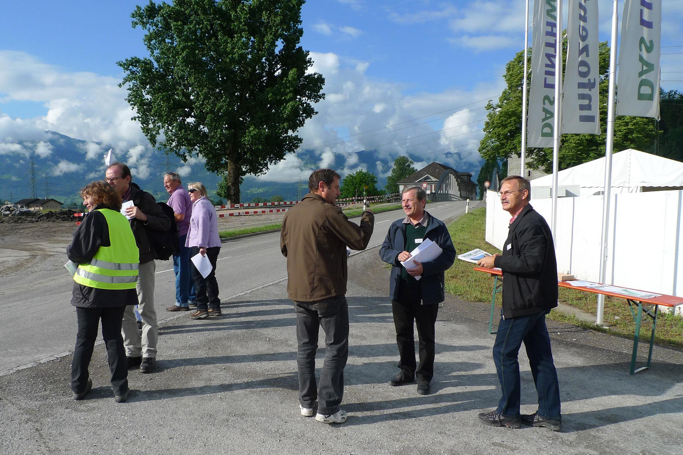 Tag der offenen Baustelle am Linthkanal